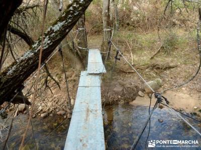 Fortines y Trincheras: Río Cofio; agencia de viajes rascafria camino del rey amigos